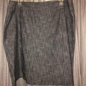 Plus size 24 gray skirt